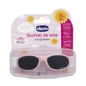 Chicco Gafas de Sol 0M+ Rosa 1 Ud - ¡Con portagafas incluido!